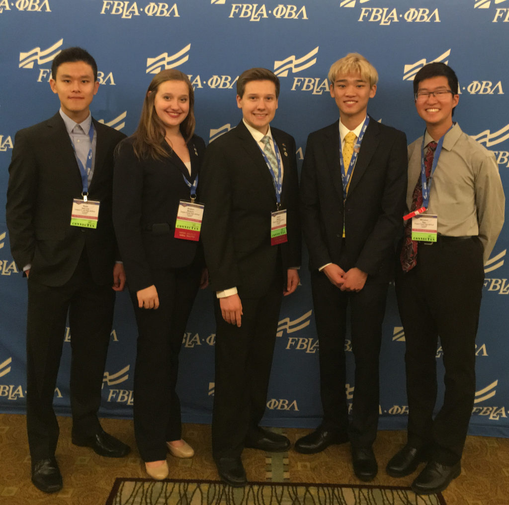 Cherry Creek HS Delegation to NLC 2017