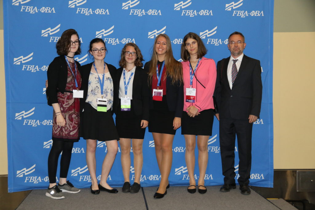 2018 Hungarian FBLA National Delegation