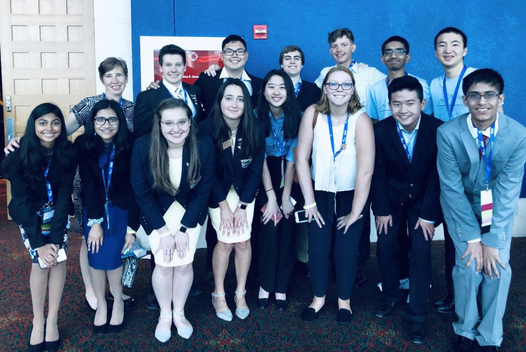 2019 Cherry Creek HS FBLA Delegation to NLC