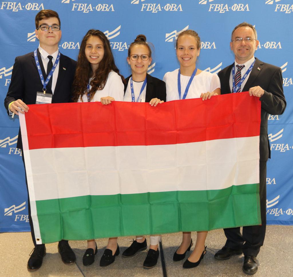 2019 Hungarian FBLA National Delegation