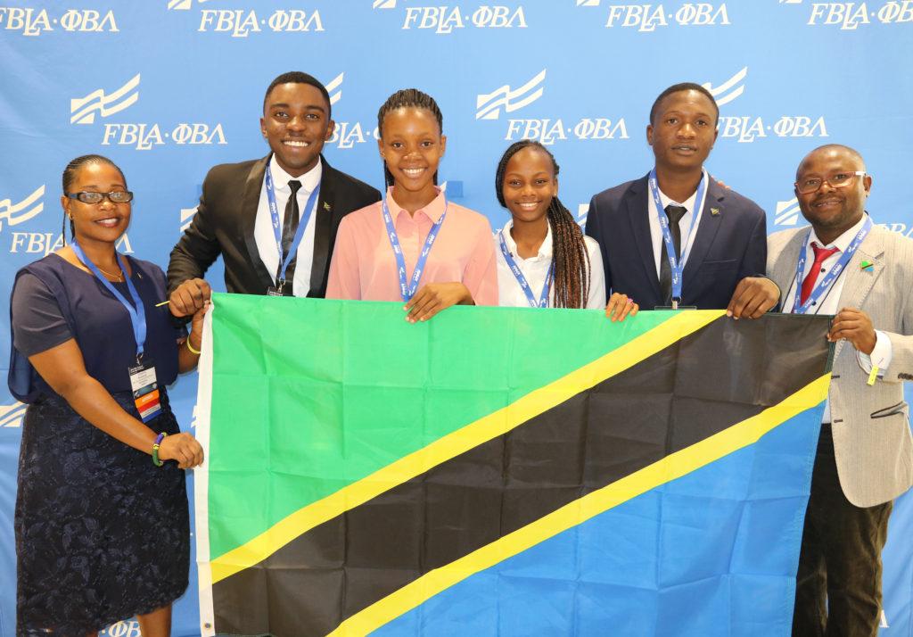2019 Tanzanian FBLA National Delegation